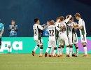 Футболисты Краснодара радуются победе