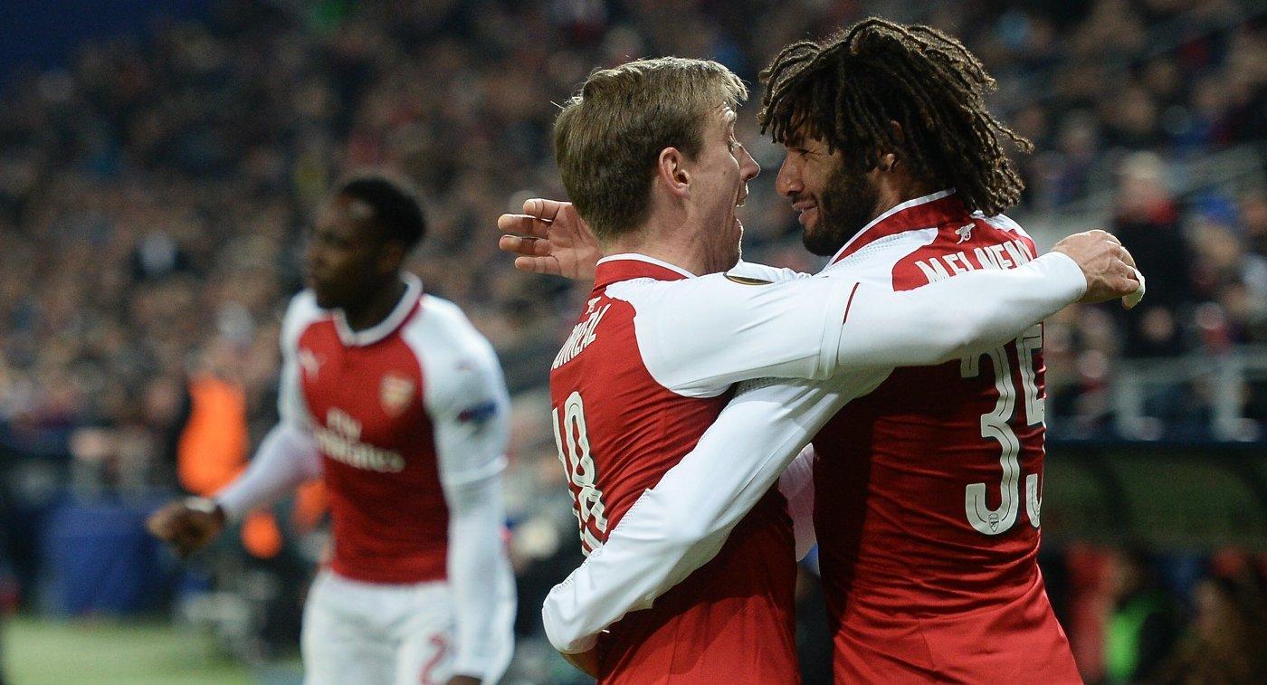«Арсенал» сыграет с«Атлетико», «Зальцбург»— с«Марселем» в ½ финала Лиги Европы