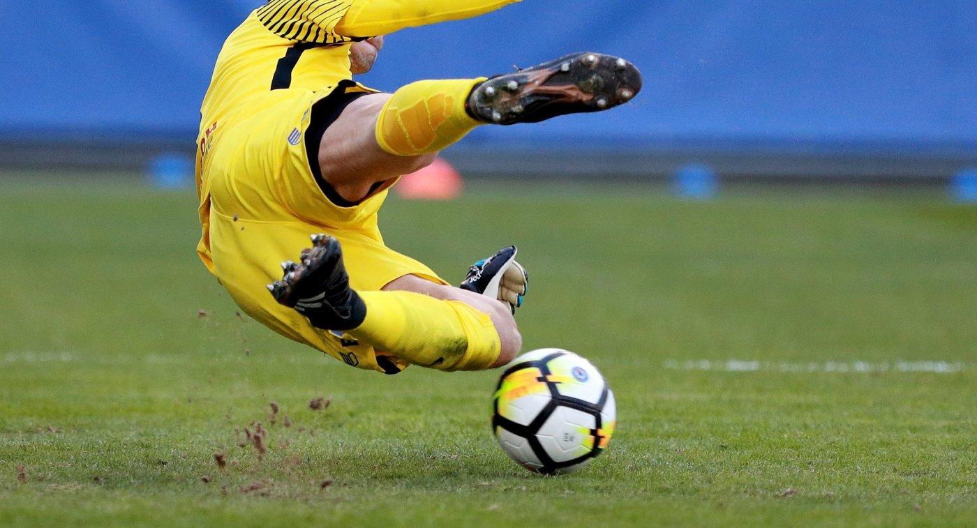 Футбольный вратарь