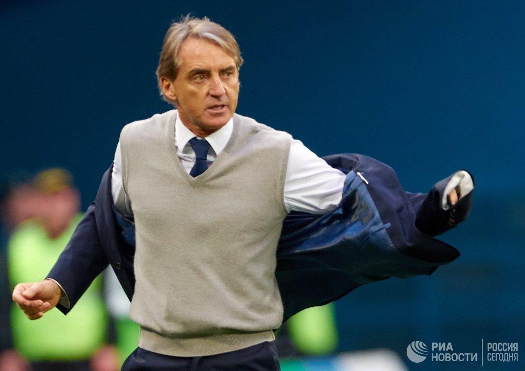 Главный тренер Зенита Роберто Манчини