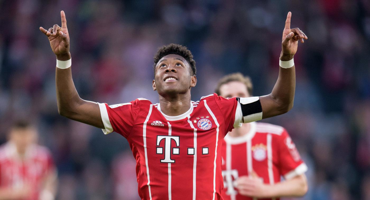 «Бавария» забила 5 мячей «Боруссии» изМенхенгладбаха