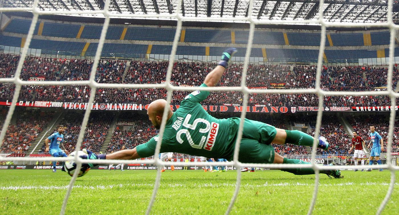 «Милан» несмог переиграть насвоем поле «Наполи»