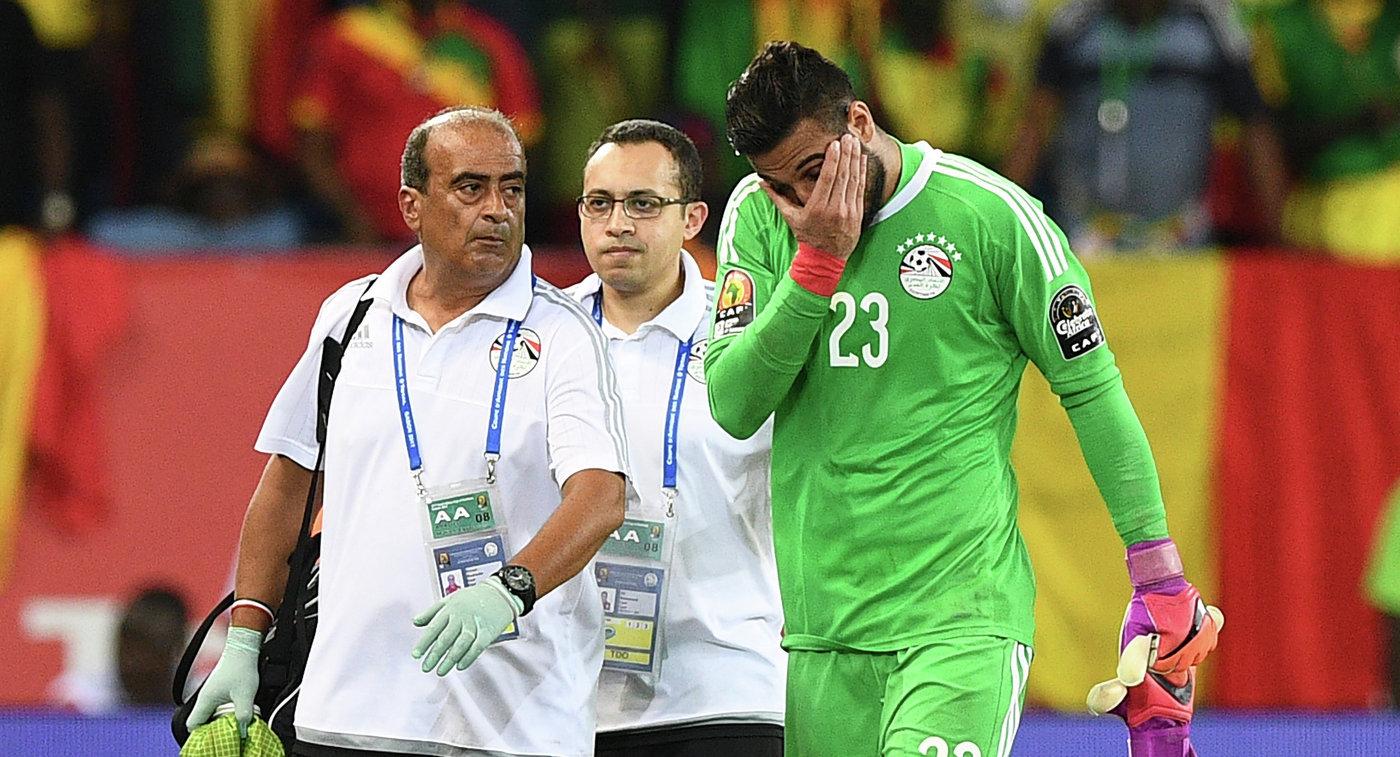 Вратарь сборной Египта Эль-Шенави пропустит чемпионат мира пофутболу из-за травмы