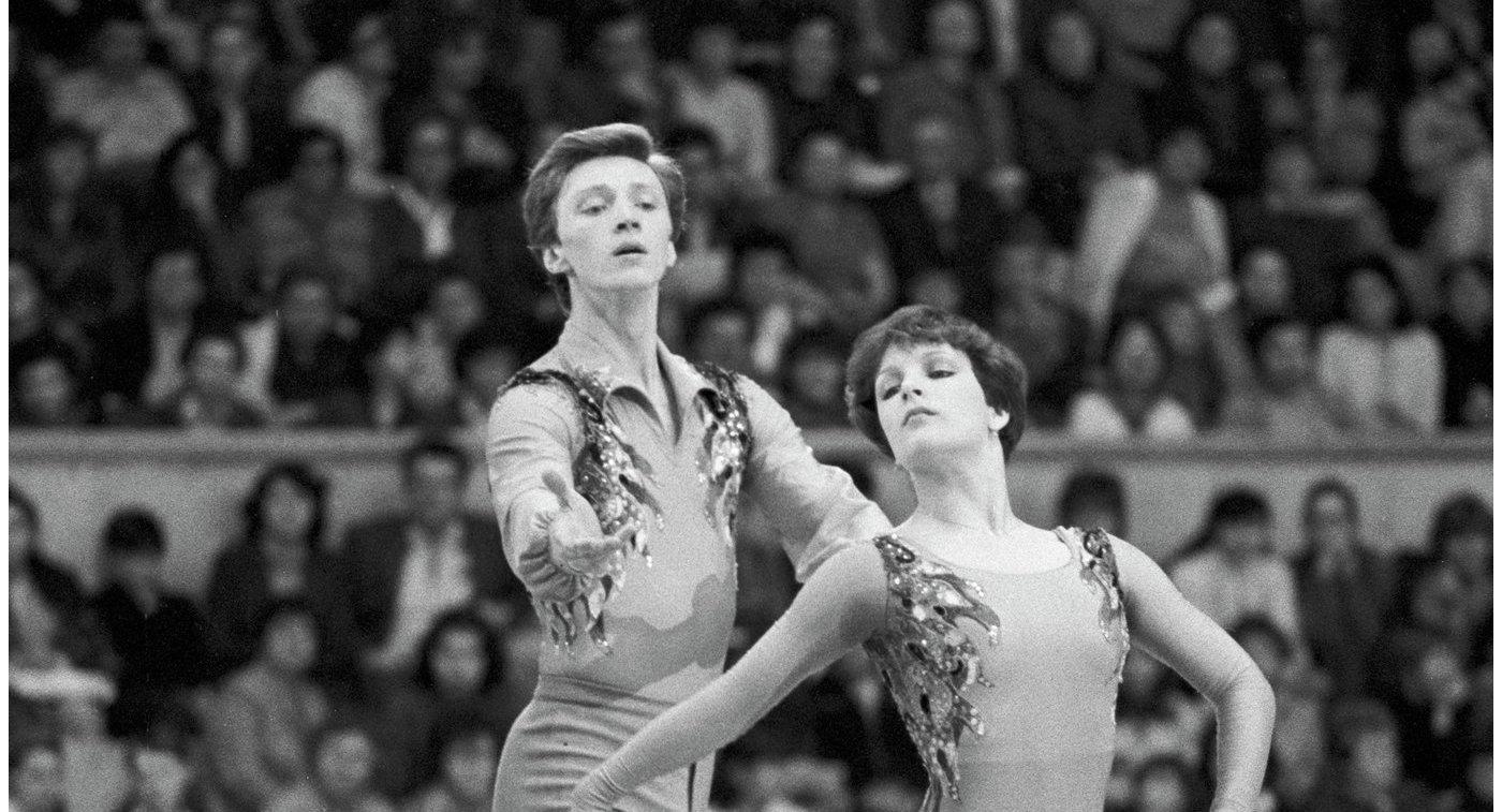 Олимпийские чемпионы Валова иВасильев вошли вЗал славы фигурного катания