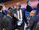 Член совета ФИФА, вице-президент Африканской конфедерации футбола (CAF) 60-летний Констант Омари