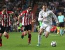 Игровой момент матча Реал - Атлетик