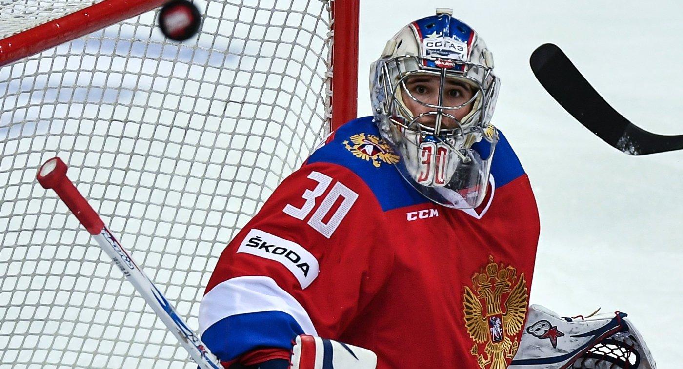 Гусев набрал 50-е очко виграх засборную Российской Федерации похоккею