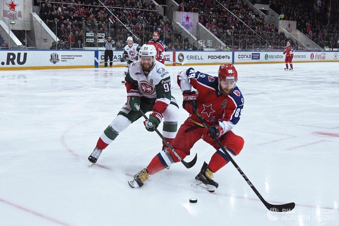 «АкБарс» обыграл ЦСКА вчетвёртом матче финала Кубка Гагарина