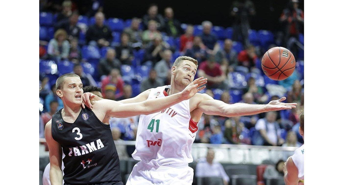 Сразгромным счетом победил «Локомотив-Кубань» надомашней арене «Парму»