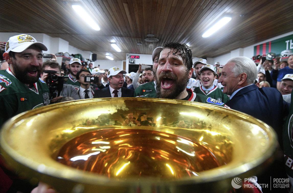 «АкБарс» в 3-й раз стал обладателем «Кубка Гагарина»