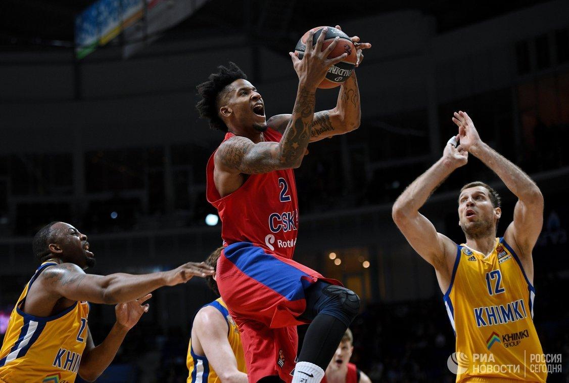 Вполуфинале баскетбольной Евролиги ЦСКА встретится с«Реалом»