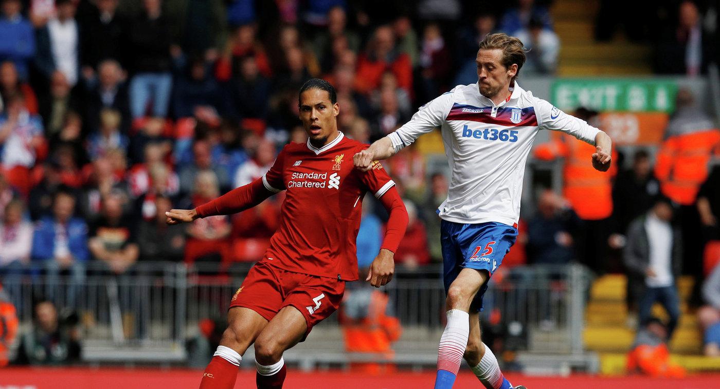 «Ливерпуль» и«Сток Сити» разошлись миром вматче чемпионата Британии