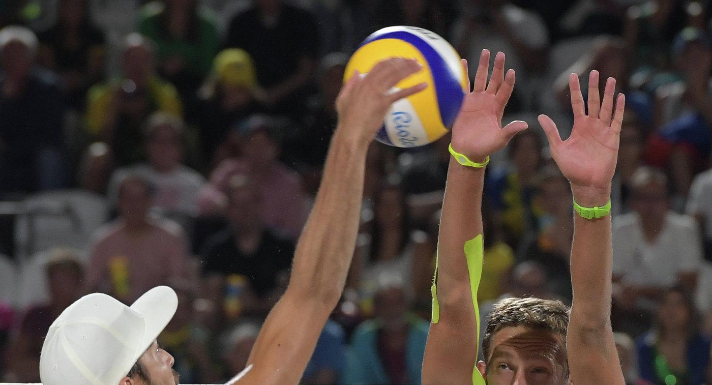 Бахнарь и Мыськив вышли в финал этапа Мирового тура по пляжному волейболу