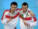 Александр Бондарь и Виктор Минибаев (слева направо)