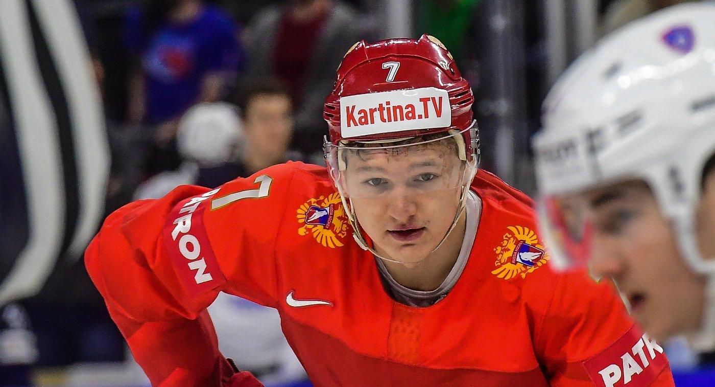 Капризов второй раз номинирован на звание лучшего молодого хоккеиста Европы