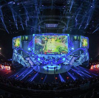 Во время киберспортивного турнира EPICENTER XL