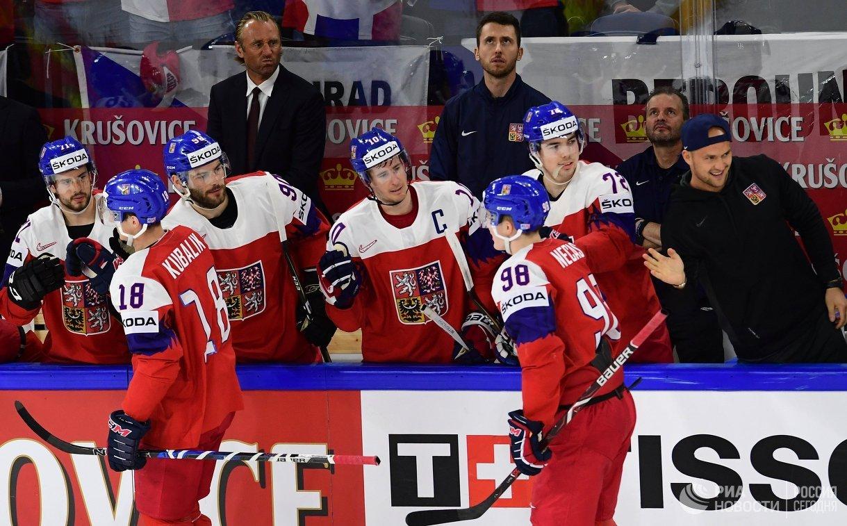 Сборная Швейцарии обыграла республику Белоруссию начемпионате мира похоккею