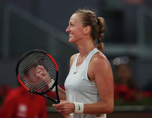 Квитова пробилась в четвертьфинал турнира WTA в Цинциннати