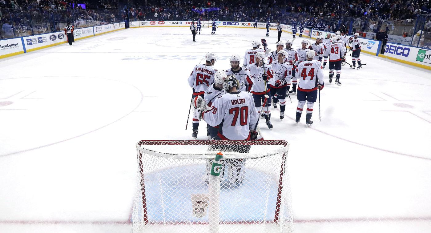 Русский хоккеист Александр Овечкин признан первой звездой дня вНХЛ