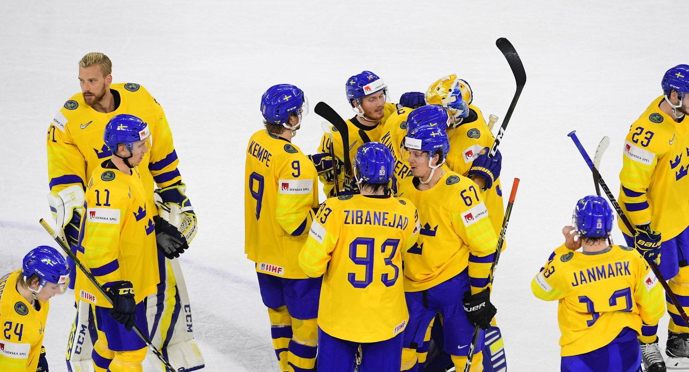 Шведы вовертайме выиграли условаков