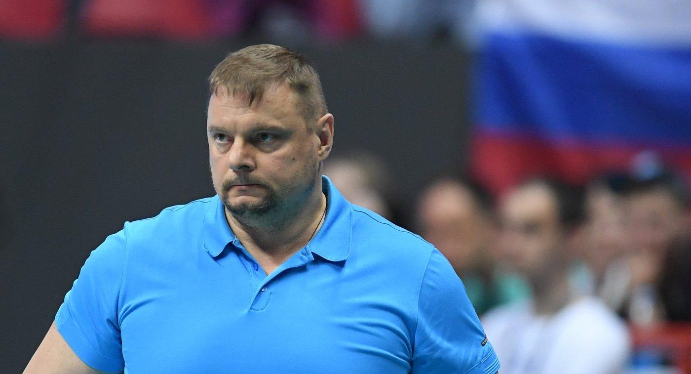 Главный тренер ВК Зенит-Казань Владимир Алекно