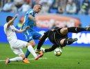 Игровой момент матча Зенит - СКА-Хабаровск