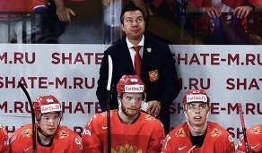 Александр Барабанов, Михаил Григоренко, Илья Воробьев и Никита Гусев (слева направо)
