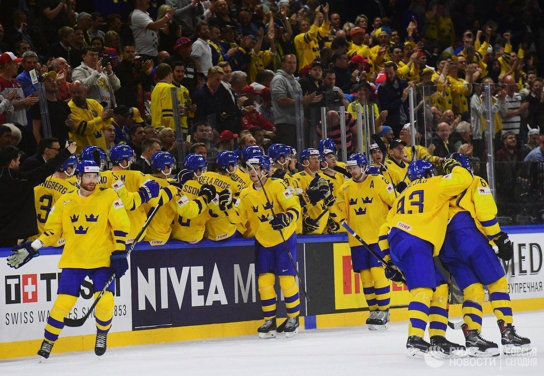 Хоккейный ЧМ-2018: шведы и финны выиграли свои группы, белорусы покинули элиту