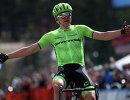 Латвийский велогонщик Томс Скуйиньш из команды Trek-Segafredo