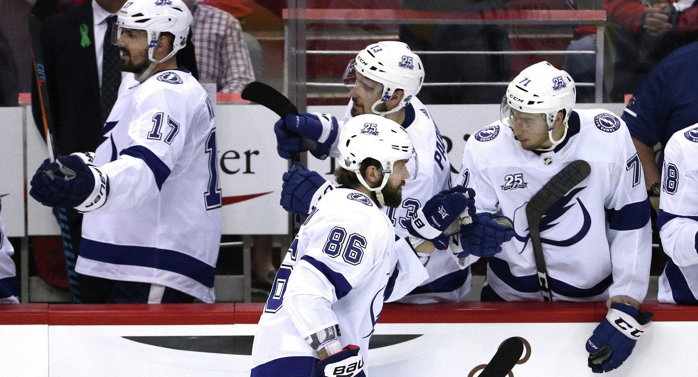 """Гол Кучерова принес """"Тампе"""" победу над """"Колорадо"""" в матче НХЛ"""