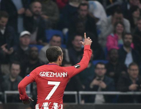 Гризманн признан лучшим игроком Лиги Европы прошлого сезона