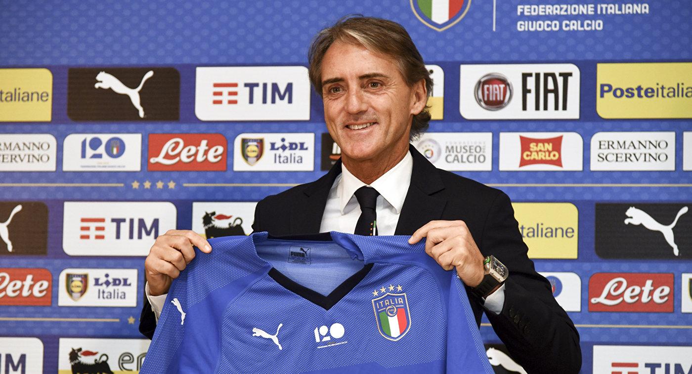 Манчини желает выиграть сосборной Италии турниры мира иЕвропы