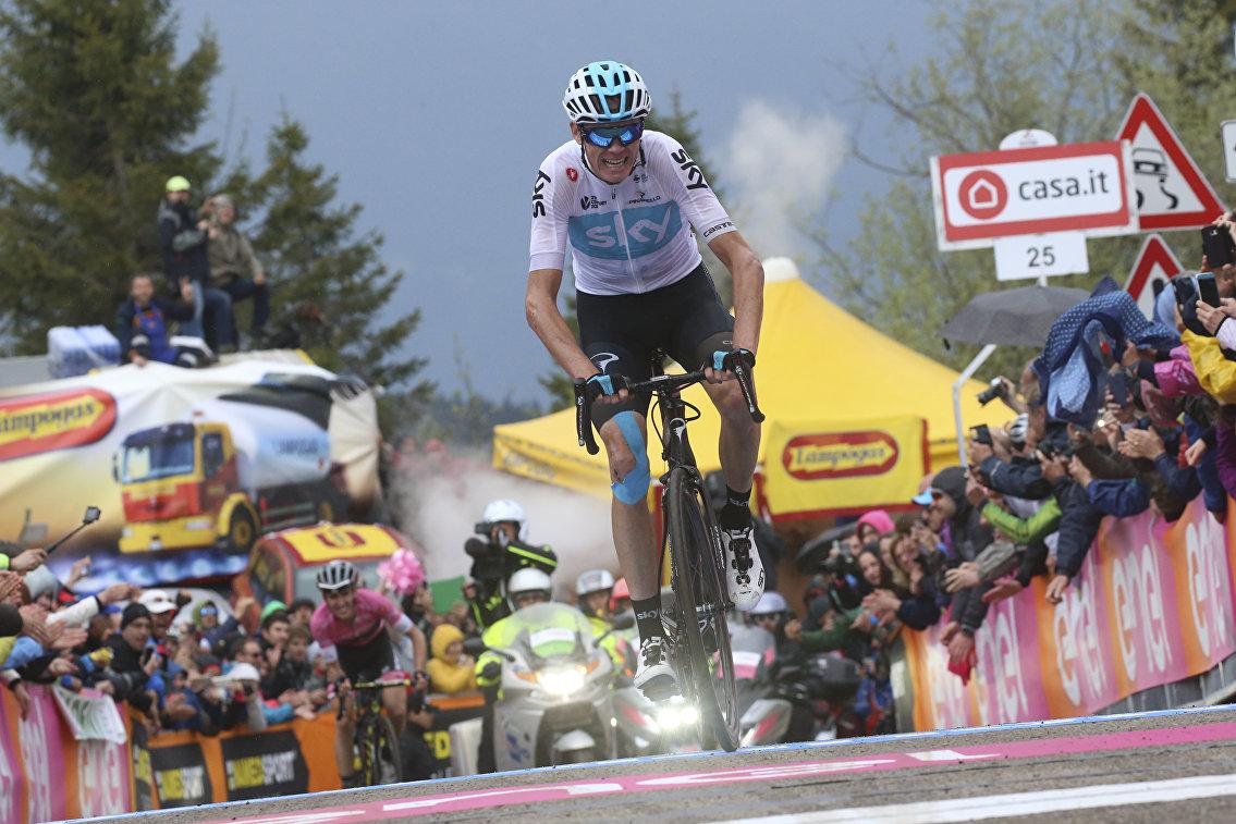 """Фрум поднялся на 271 строчку в рейтинге Мирового тура UCI после победы на """"Джиро"""""""