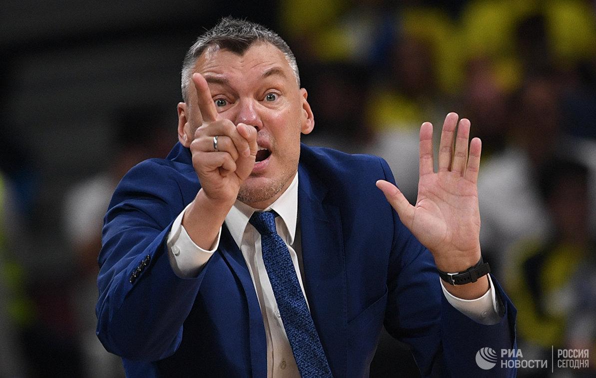 Главный тренер Жальгириса Шарунас Ясикявичюс