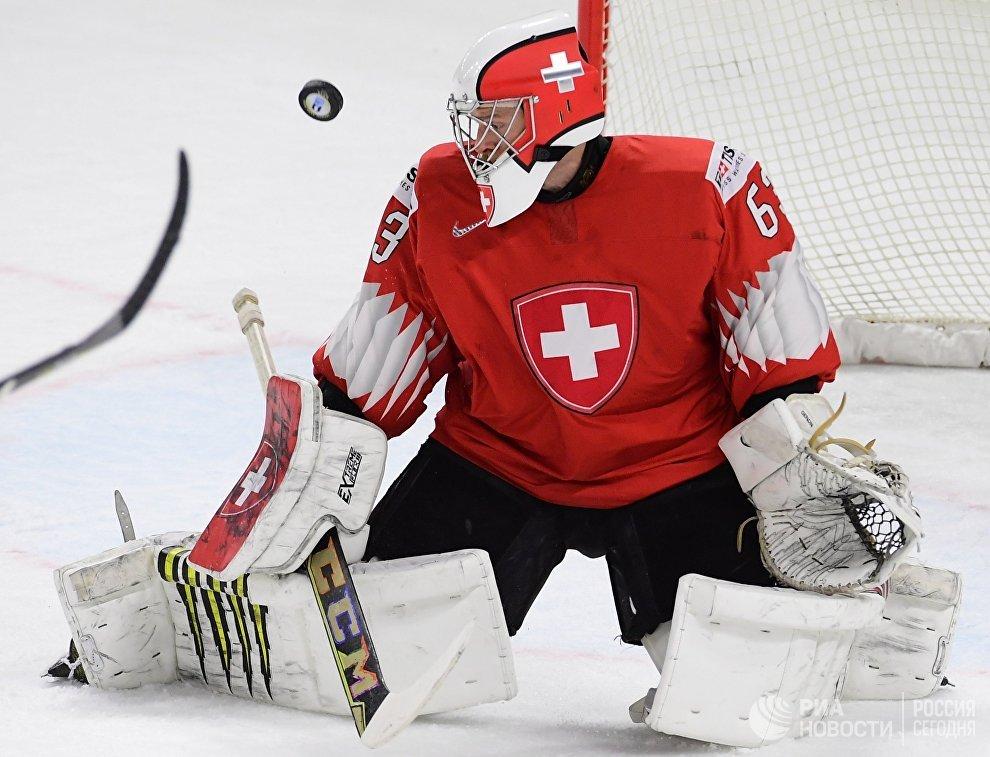 Вратарь сборной Швейцарии Леонардо Дженони