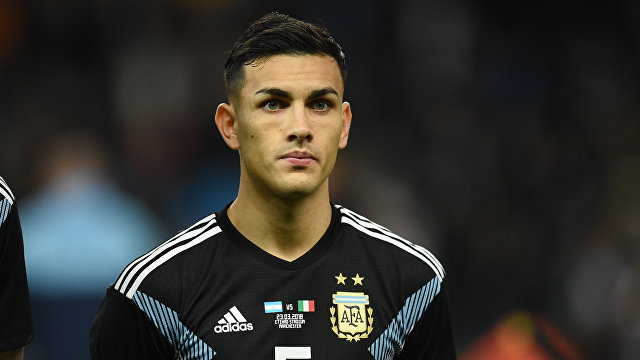 Игрок сборной Аргентины Леандро Паредес