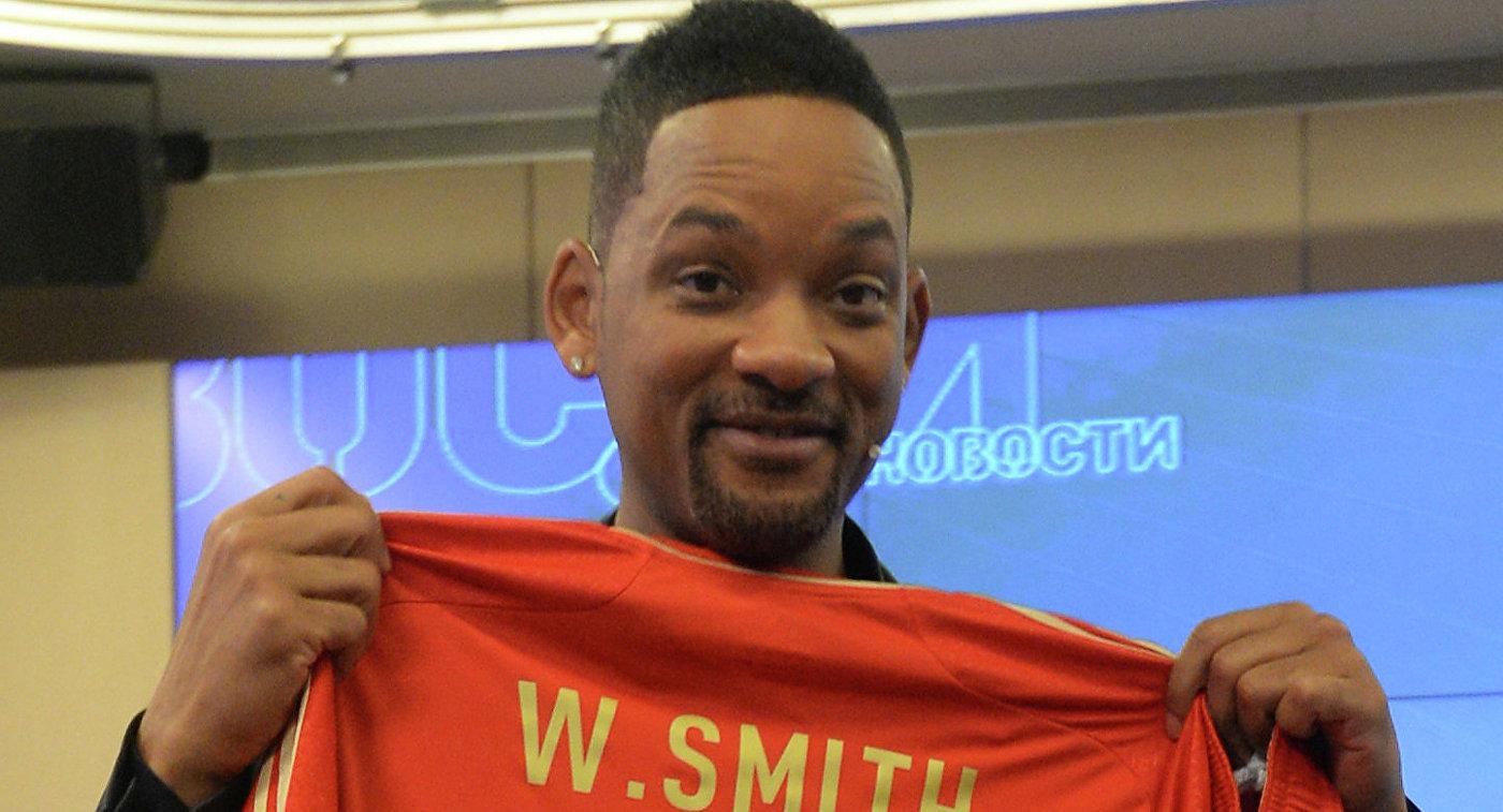 Актёр Уилл Смит исполнит хит для чемпионата мира пофутболу в РФ
