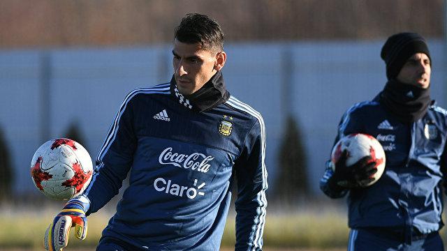 Вратарь сборной Аргентины Науэль Гусман