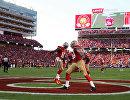 Игровой момент матча NFL