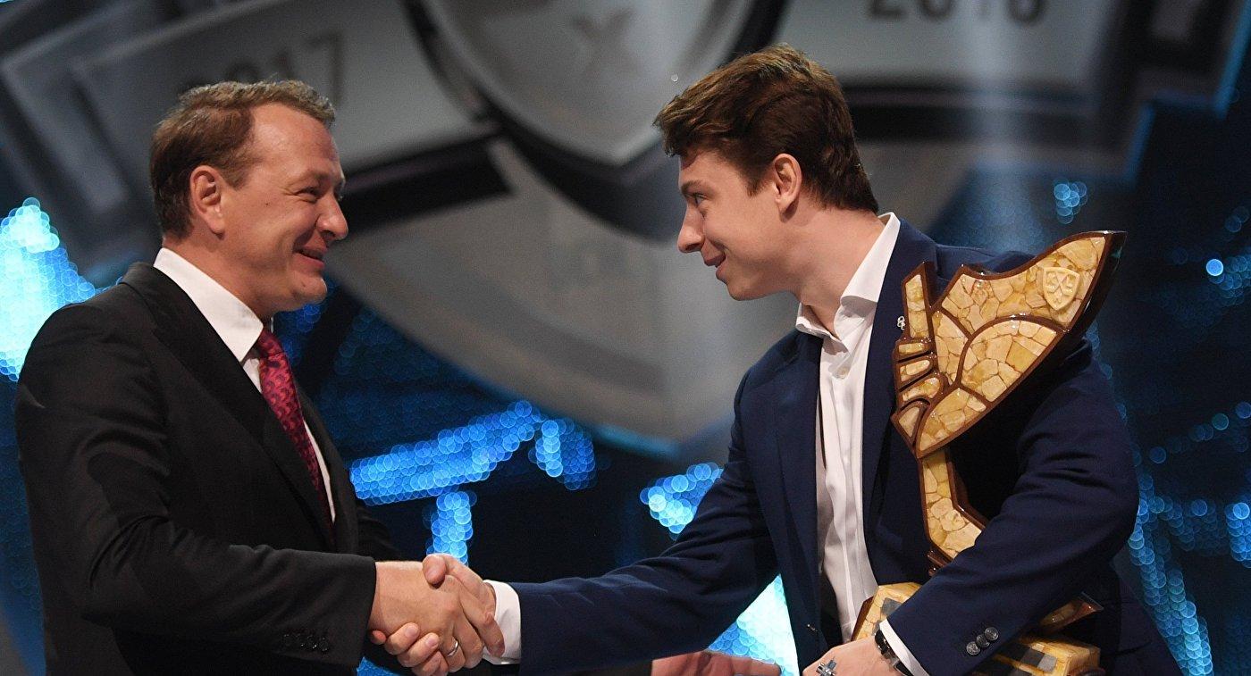 Форвард СКА Гусев стал самым ценным игроком стабильного чемпионата КХЛ