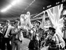 Ливерпуль радуется победе над Реалом в 1981 году
