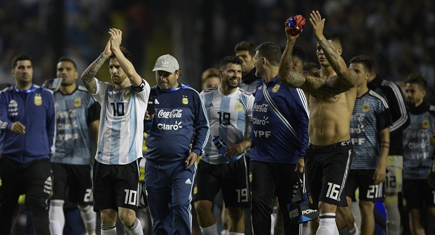 Сборная Аргентины разгромила команду Гаити в товарищеском матче