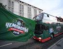 Парад Ак Барса в Казани в честь победы команды в Кубке Гагарина