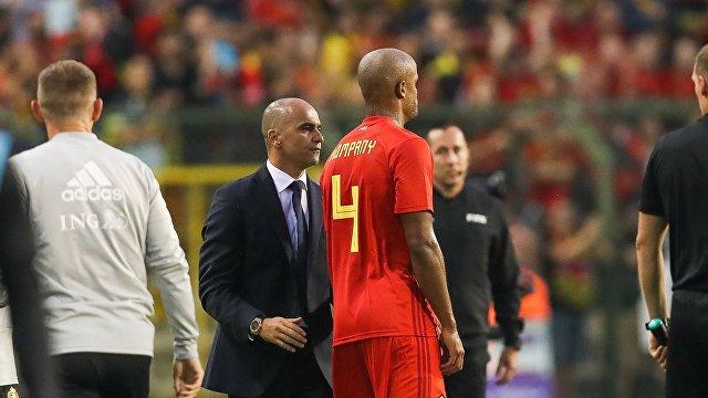 Защитнй сборной Бельгии по футболу Венсан Компани