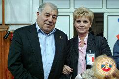 Дмитрий Миндиашвили и Наталья Ярыгина (слева направо)