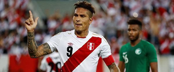 Форвард сборной Перу Паоло Герреро