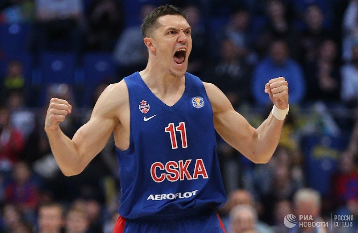 Игрок ЦСКА Семён Антонов