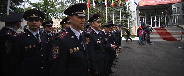 Открытие центра международного полицейского сотрудничества к ЧМ-2018