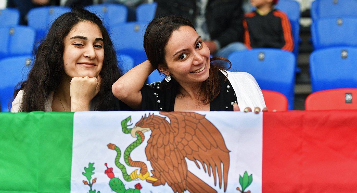 Футбол. ЧМ-2018. Тренировка сборной Мексики