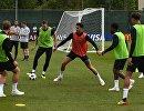 Футболисты сборной Англии на тренировке